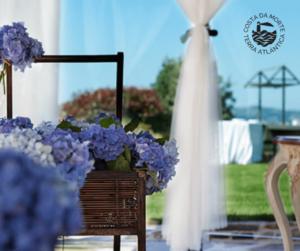 torre de laxe flores boda